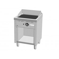 FRY-TOP CON MUEBLE RECTIFICADA 600MM